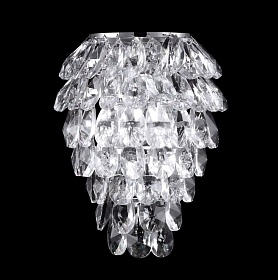 Бра Crystal Lux CHARME AP3 CHROME/TRANSPARENT - фото и цены