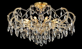 Люстра Crystal Lux HOLLYWOOD SP-PL10 GOLD D1000 - фото и цены
