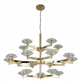 Люстра Crystal Lux REBECA SP5+10+5 GOLD - фото и цены