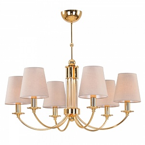 Люстра Crystal Lux CAMILA SP6 GOLD - фото и цены