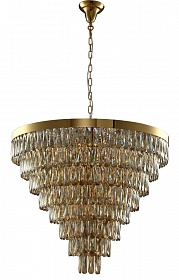 Люстра Crystal Lux ABIGAIL SP22 D820 GOLD/AMBER - фото и цены