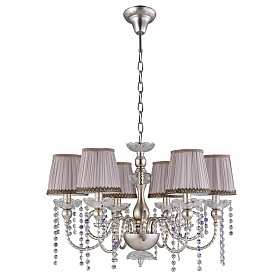 Люстра Crystal Lux ALEGRIA SP6 SILVER-BROWN - фото и цены