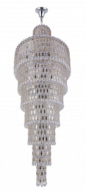 Люстра Crystal Lux LIRICA SP40 D700 CHROME/GOLD-TRANSPARENT - фото и цены