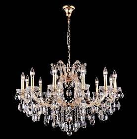 Люстра Crystal Lux HOLLYWOOD SP12 GOLD - фото и цены