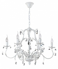 Люстра Crystal Lux CRISTINA SP6 WHITE - фото и цены
